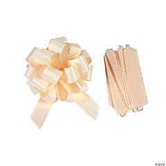Ivory Wedding Pew Bows