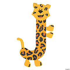 """J Is For Jaguar"" Letter J Craft Kit"
