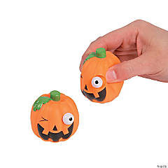 Jack-O'-Lantern Characters with Pop-Out Eyes