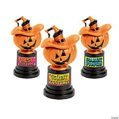 Jack-O'-Lantern Costume Trophies