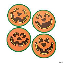 Jack-O'-Lantern Flying Discs