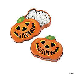 Jack-O'-Lantern Mint Tins