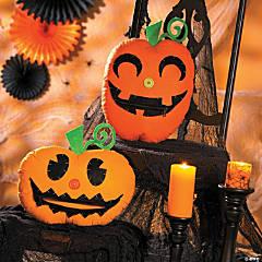 Jack-O'-Lantern Pillows Halloween Décor