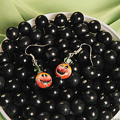Jack-O'-Lantern Earrings Idea