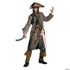 Jack Sparrow Rental Quality Adult Men's Costume