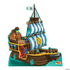 Jake & the Never Land Pirates Bucky Pirate Ship Cardboard Stand-Up