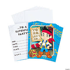 Jake & the Never Land Pirates™ Invites