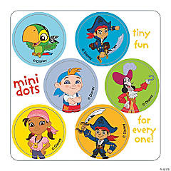 Jake & the Never Land Pirates Mini Dot Stickers