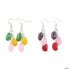 Jelly Bean Earrings Craft Kit