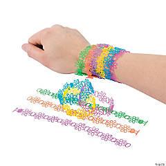Jelly Daisy Vinyl Bracelets