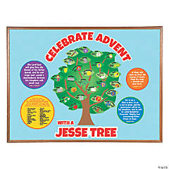 Jesse Tree Bulletin Board Set