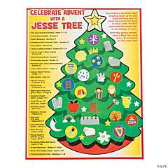 Jesse Tree Sticker Scenes