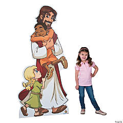 Jesus and the Children Stand-Up
