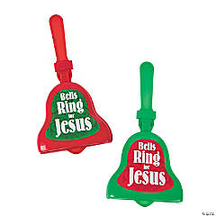 Jesus Bell-Shaped Clappers