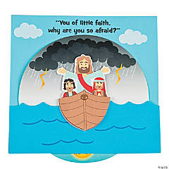 Jesus Calms The Storm Wheel Craft Kit