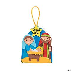 Jesus Gift Christmas Ornament Craft Kit - Makes 48