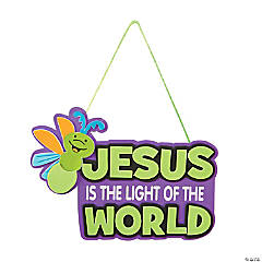 Jesus Glow-in-the-Dark Sign Craft Kit