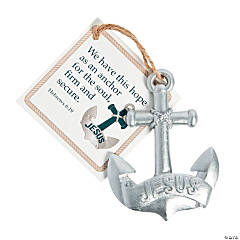Jesus Is an Anchor Ornaments