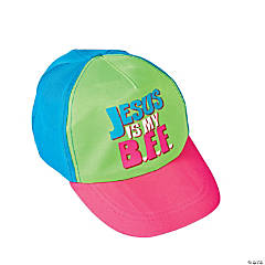 """Jesus Is My BFF"" Girl's Baseball Cap"