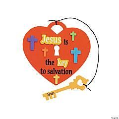 """Jesus Is the Key"" Craft Kit"