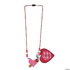 Jesus is the Key to My Heart Necklace Craft Kit