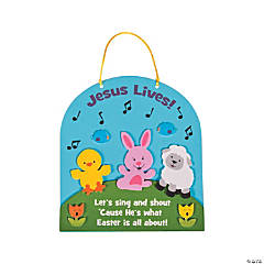 Jesus Lives Sign Craft Kit