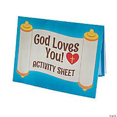 Jesus Loves Me Activity Sheets