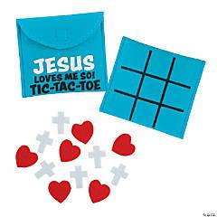 Jesus Loves Me So Tic-Tac-Toe Game