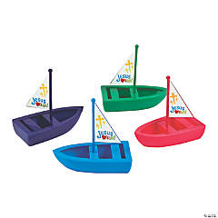 Jesus Loves Me Toy Boats