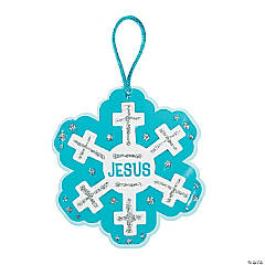 Jesus Snowflake Ornament Craft Kit