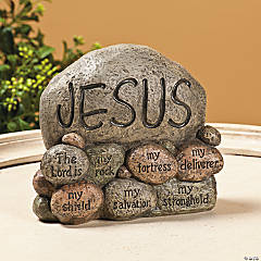 Jesus Stones Tabletopper