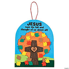 Jesus Took the Fall Sign Craft Kit