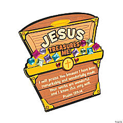 Jesus Treasures Me Stand-Up Craft Kit