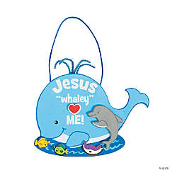 Jesus Whaley Loves Me Sign Craft Kit