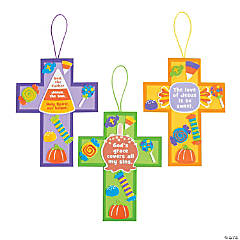 Jesus' Love is So Sweet Cross Sign Craft Kit