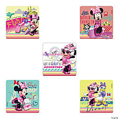 Jet Set Minnie Mouse Stickers