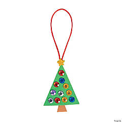 Jewel Christmas Tree Ornament Craft Kit
