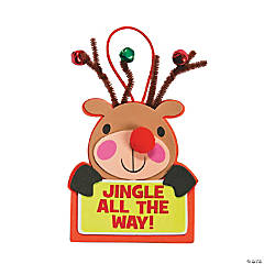 Jingle All The Way Ornament Craft Kit