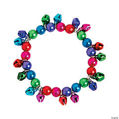 Jingle Bell Beaded Bracelet Craft Kit