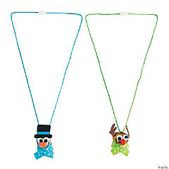 Jingle Bell Holiday Necklace Craft Kit