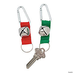 Jingle Bell Key Chain with Clip