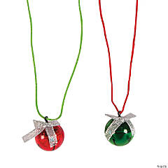 Jingle Bell Light-Up Necklaces