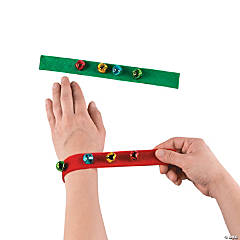 Jingle Bell Slap Bracelets