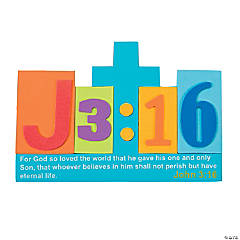 John 3:16 Block Sign Craft Kit