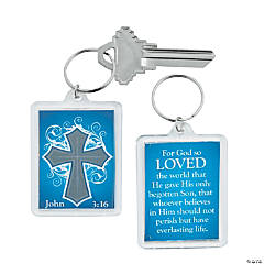 John 3:16 Key Chains