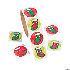 Jolly Stocking Stickers