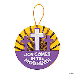 Joy Comes In The Morning Sunburst Sign Craft Kit