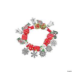 Joy, Peace, Noel & Merry Christmas Bracelet