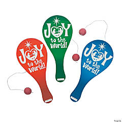 Joy To the World Paddleball Games