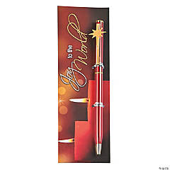 Joy to the World Pen & Bookmark Set